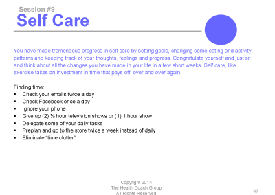 12 month selfcare
