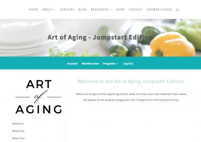 art of aging js