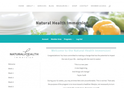 natural health immersion
