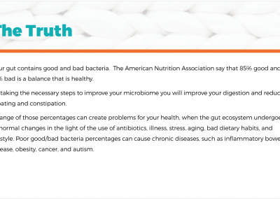HEALTHY GUT PREVIEW facts