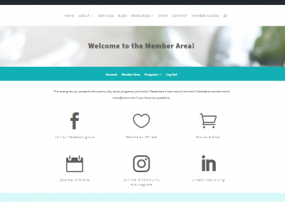 member-page copy